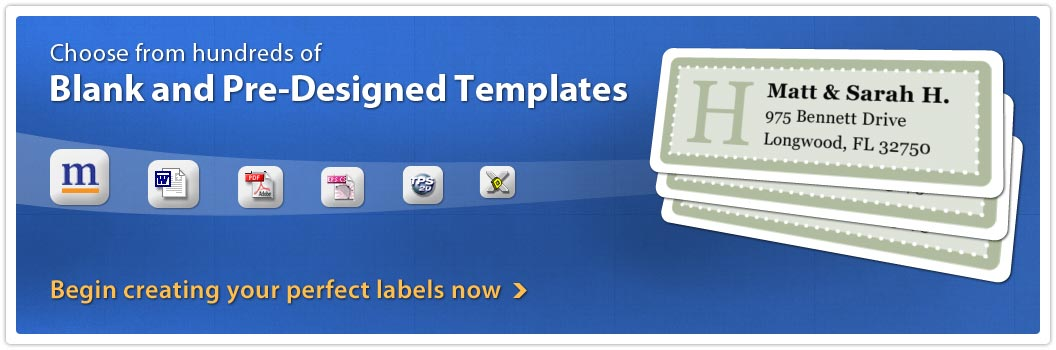 Templates for Every Label Size