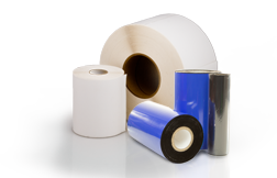 Shop page for thermal transfer roll labels
