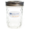 8 oz Ball® Quilted Canning Jar - OL9815