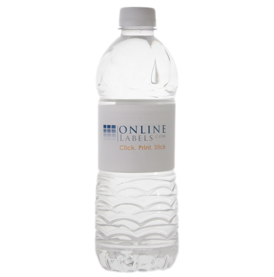 Aquafina Water Bottle Label