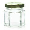 1.5 oz Glass Hexagon Jar Labels