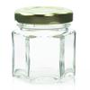 1.5 oz Glass Hexagon Jar Labels