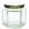 4 oz Glass Hexagon Jar Labels