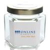 4 oz Glass Hexagon Jar - OL800