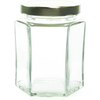 6 oz Hexagon Glass Jar Labels