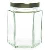 6 oz Hexagon Glass Jar Labels