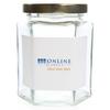 9 oz Hexagon Glass Jar - OL3072