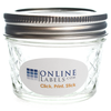 4 oz Ball® Quilted Canning Jar - OL9815