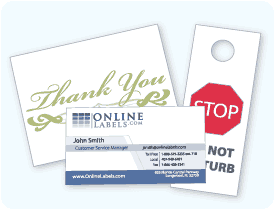 Cardstock from Online Labels