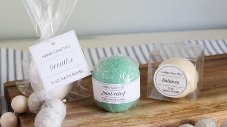 3 bath bomb packaging ideas