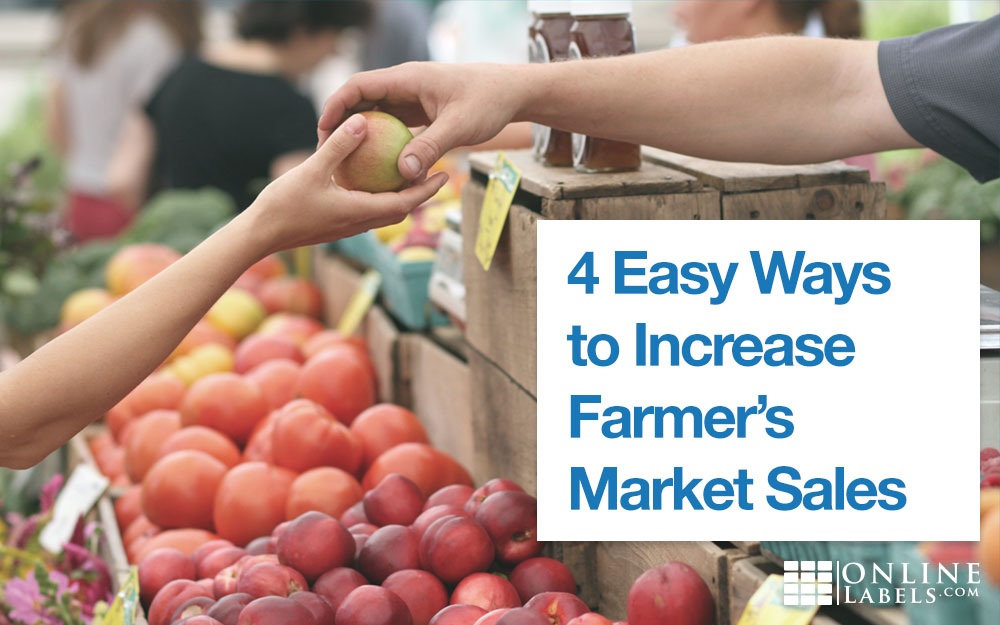Ways to improve your farmer's market brand, booth, or product for better sales