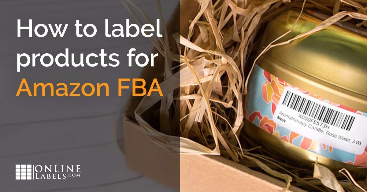 How To Label Your Products For Amazon FBA