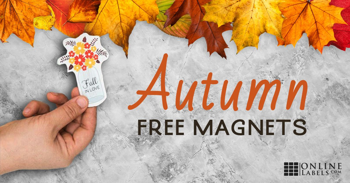DIY Autumn Magnets [Free Template]
