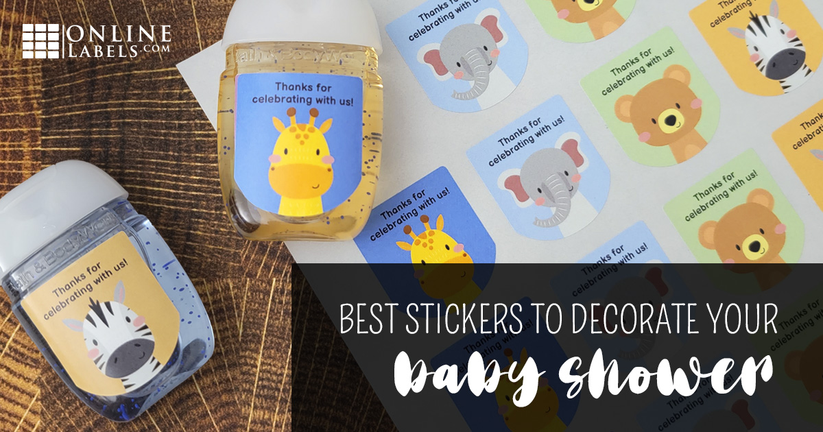 Best Stickers For Decorating Your Baby Shower