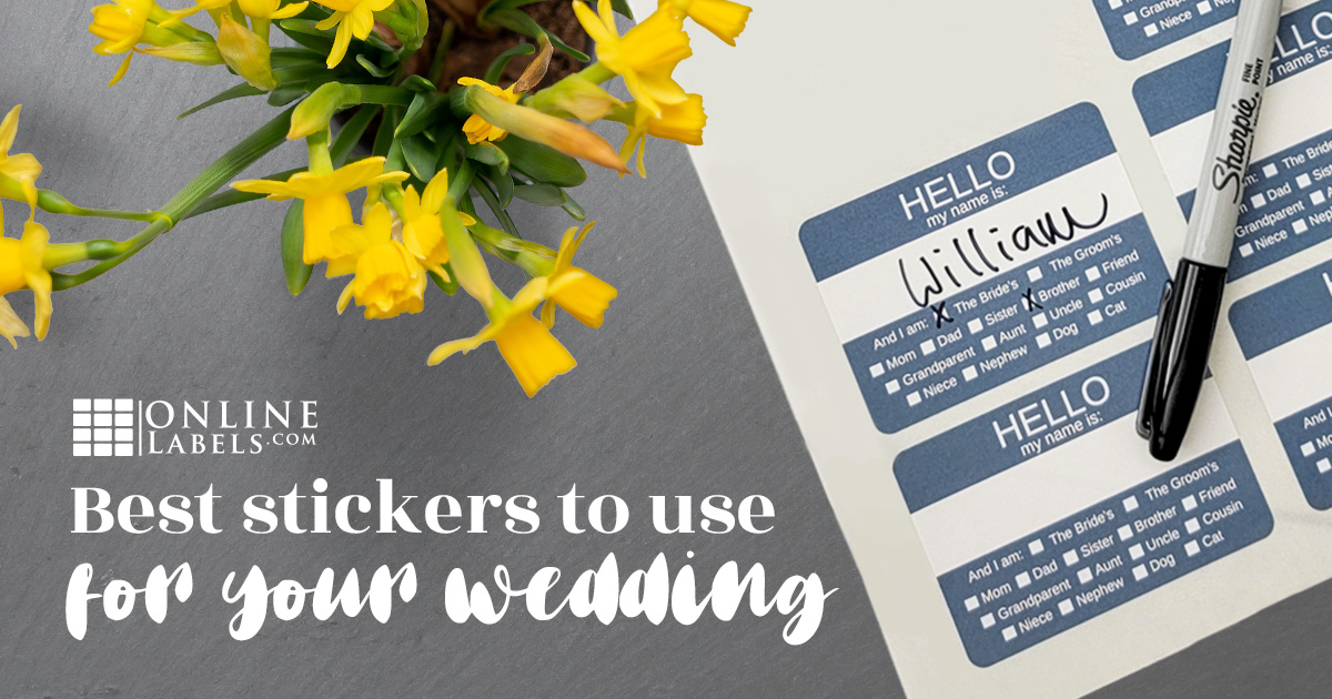 Best Stickers To Use For Your Wedding