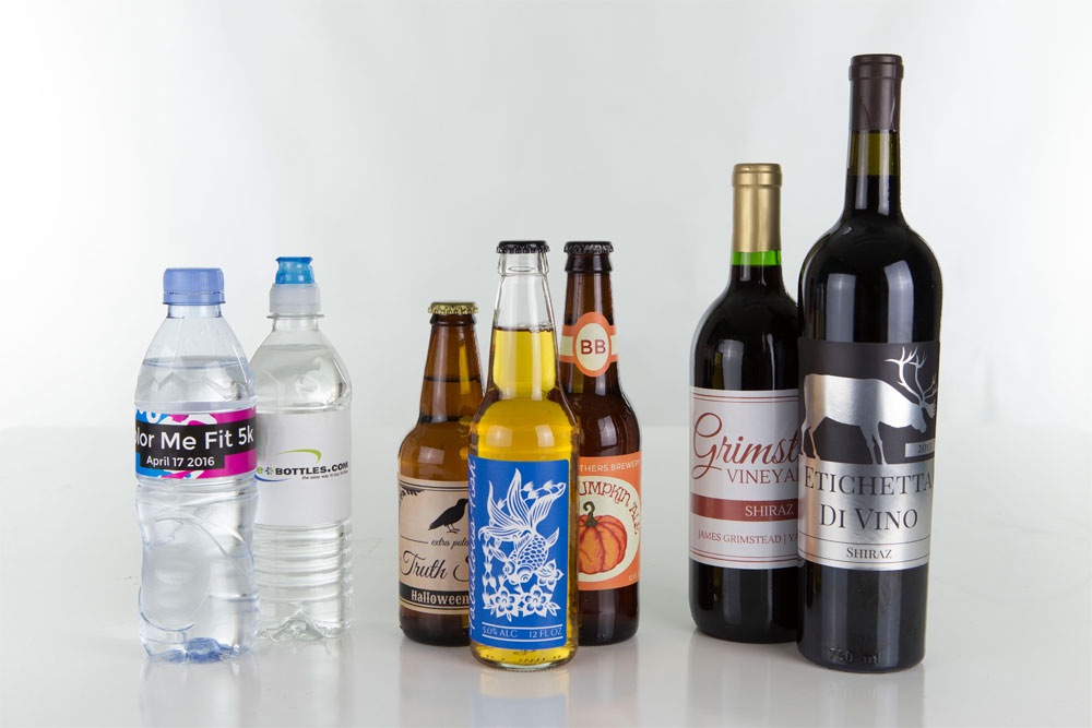 tips for creating the perfect bottle label onlinelabels com