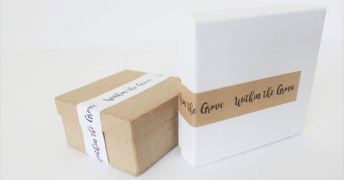 How labels can help dress up product boxes with removable lids