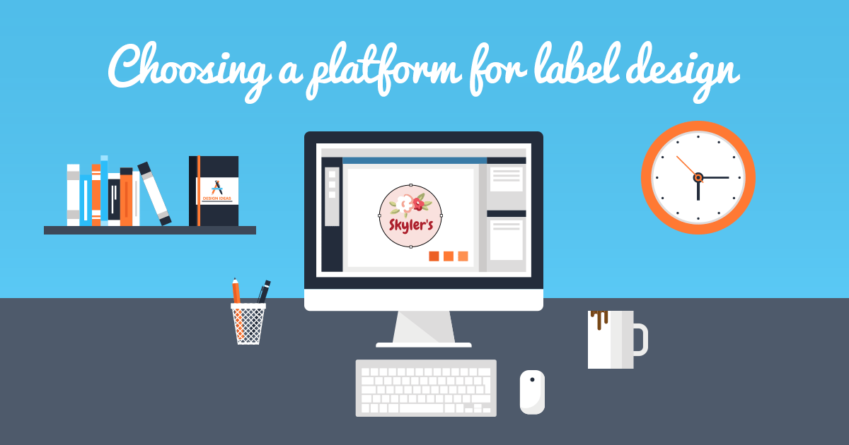 5 Best Label Design Printing Software Platforms Onlinelabels Com