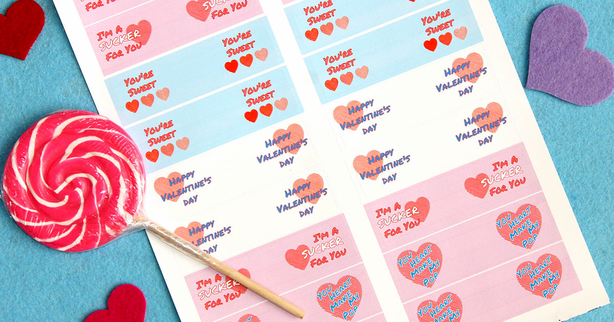 Tutorial for Valentines kids can take to school on V-Day