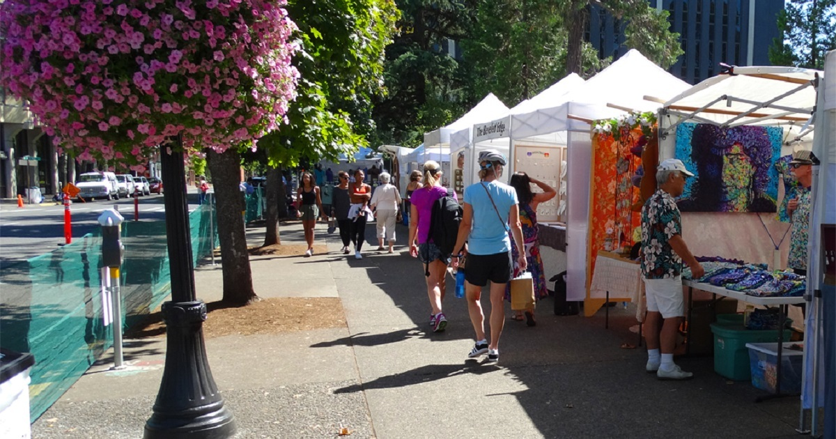 Craft fair idea for small business owners considerating a permanent storefront