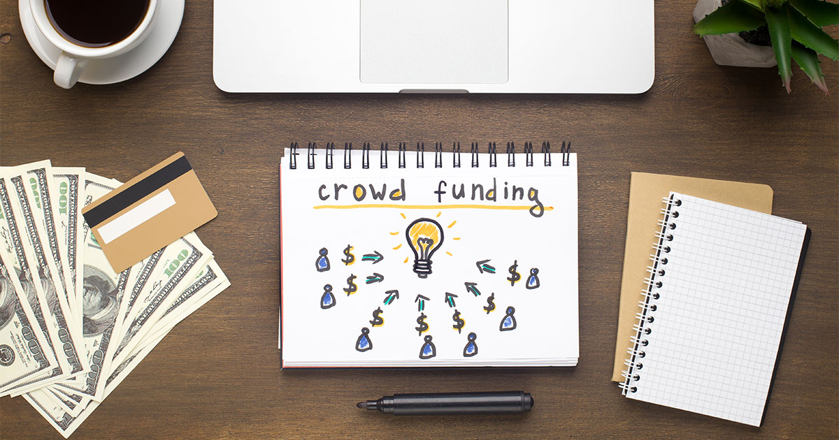 Ways to raise start-up money: crowdfunding