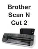Cut settings for OnlineLabels sticker paper with the Brother Scan-N-Cut 2