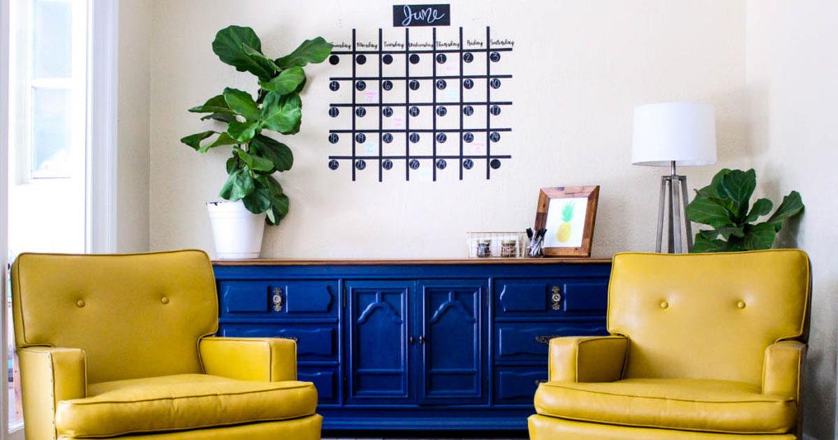 Business wall calendar/decoration