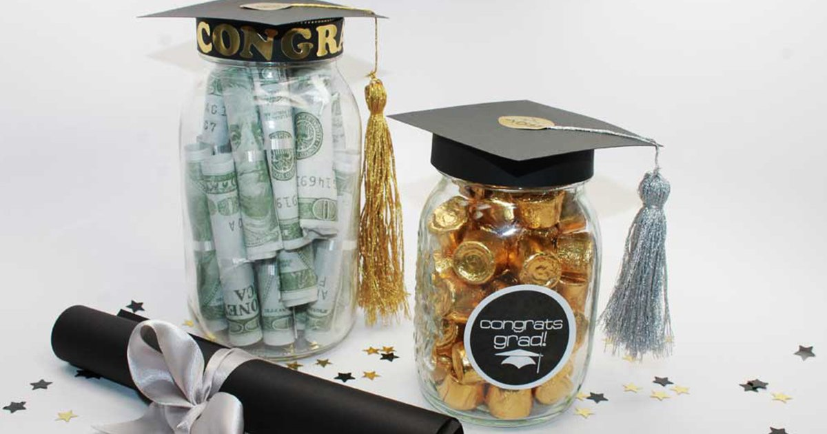 Diy Graduation Mason Jar Party Gifts Favors Free Printable