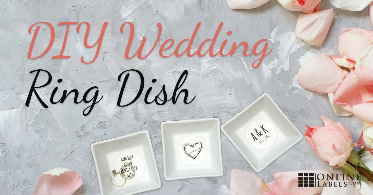 Printable Wedding Ring Dish Decoration