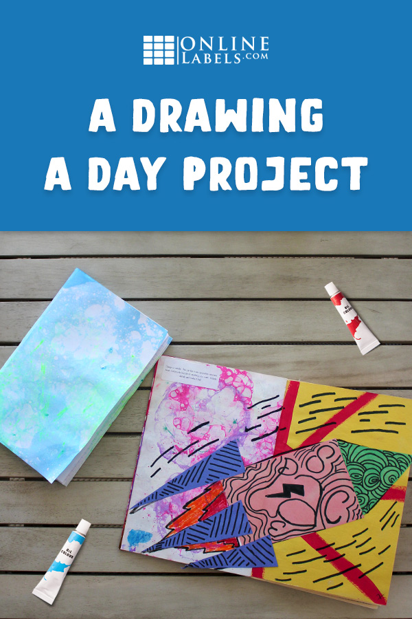 Summer project: Do a drawing a day with these fun prompts and DIY notebook