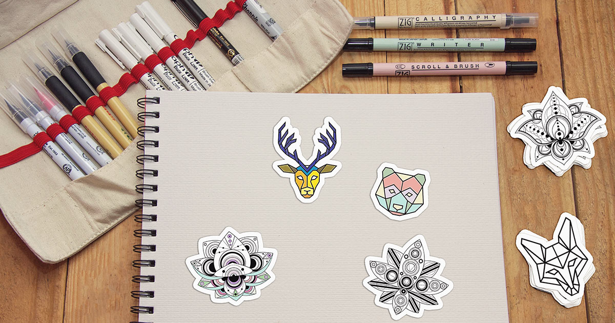 Can you write or draw on sticker paper? FAQ