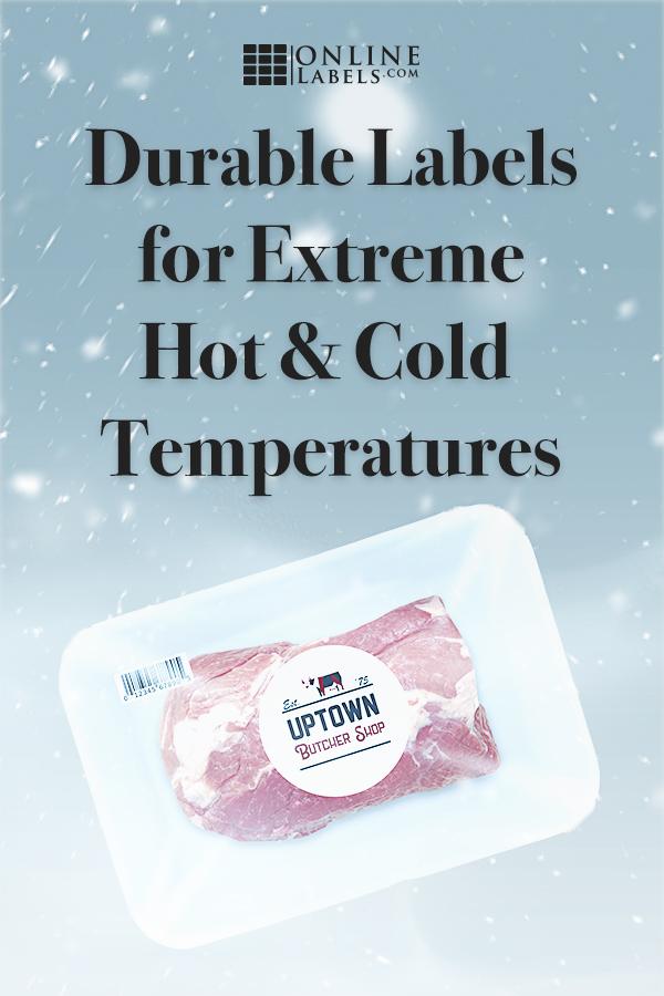 Find freezer labels and heat-resistant labels