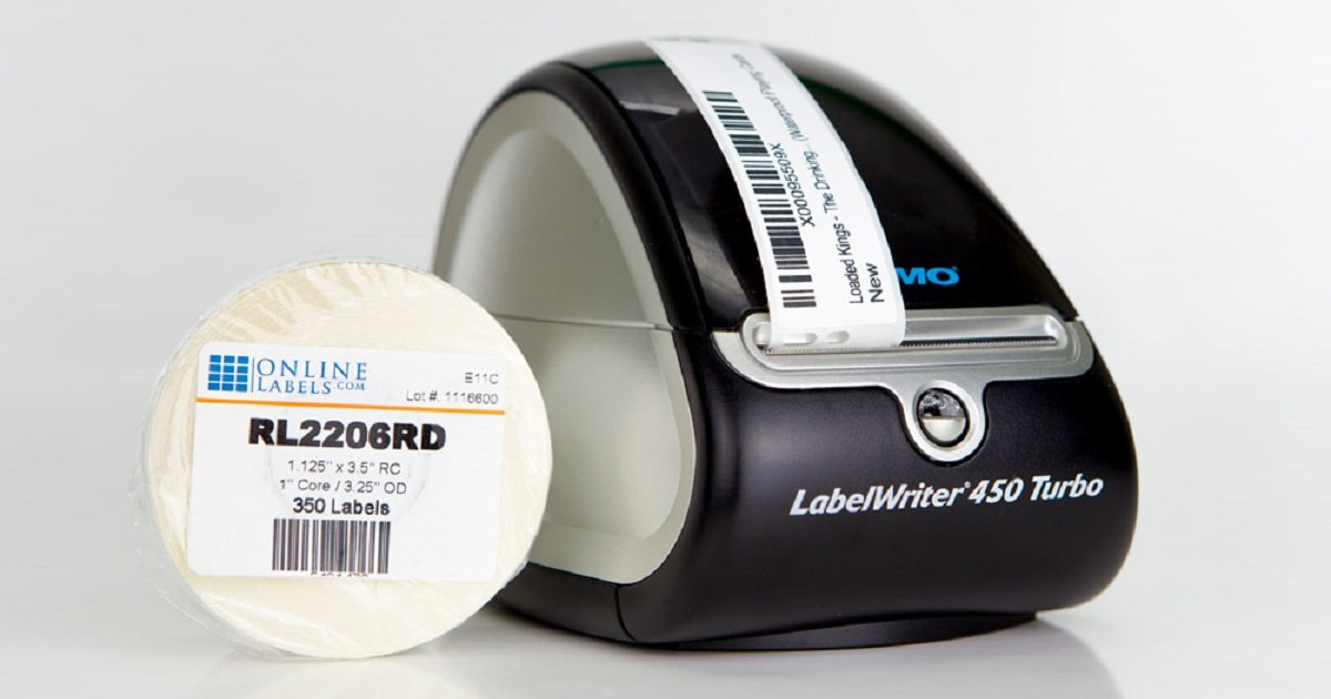 Labels for DYMO  450 Turbo label printer