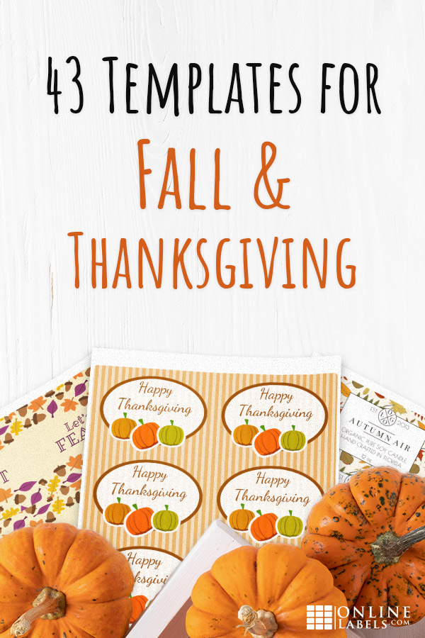 43 free printable label printables you can download to decorate your home for Fall or brand your products and business