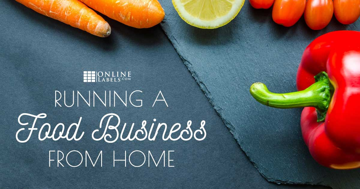 Running a food-based business out of your home.