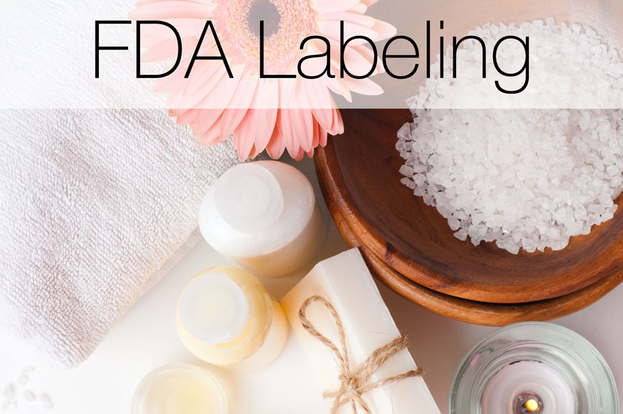 How to label cosmetics, soaps, and aromatherapies in accordance with the FDA