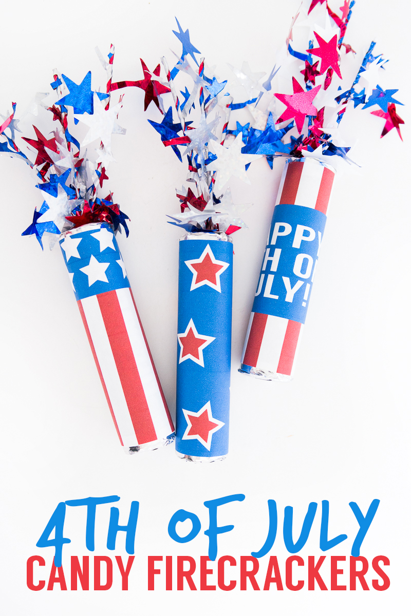 DIY kid-friendly candy favors for July 4th