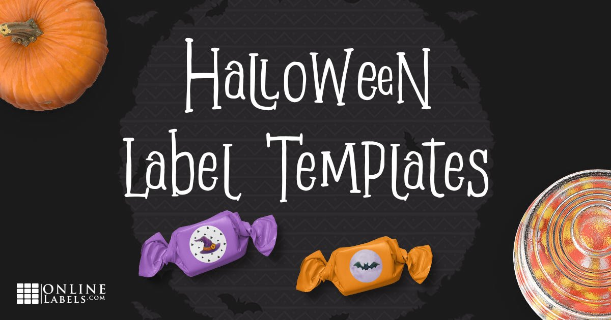 Free label templates to celebrate Halloween
