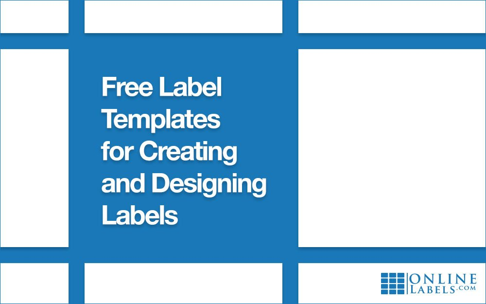 Where To Find Free Blank And Pre Designed Templates For Creating Designing Custom Labels