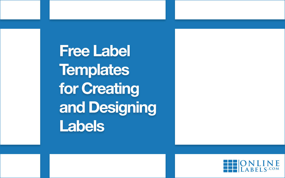 Free Label Templates For Creating And Designing Labels - Plain address labels template