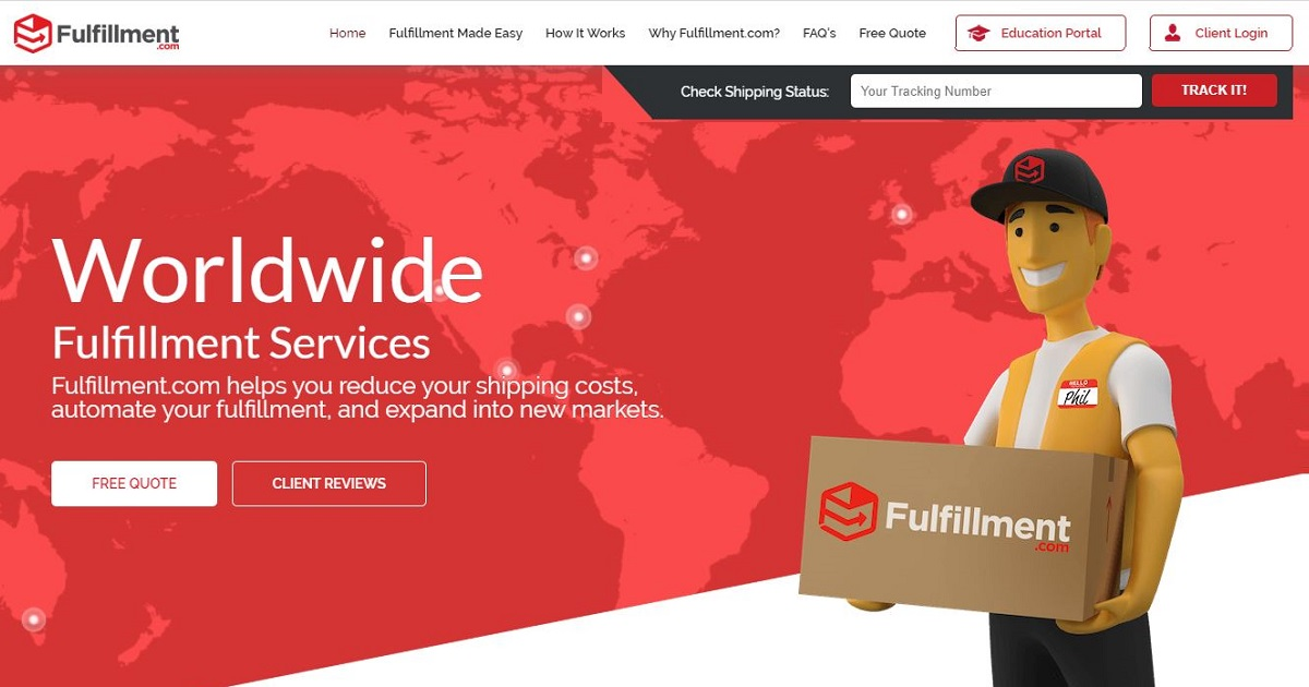 Fulfillment.com homepage