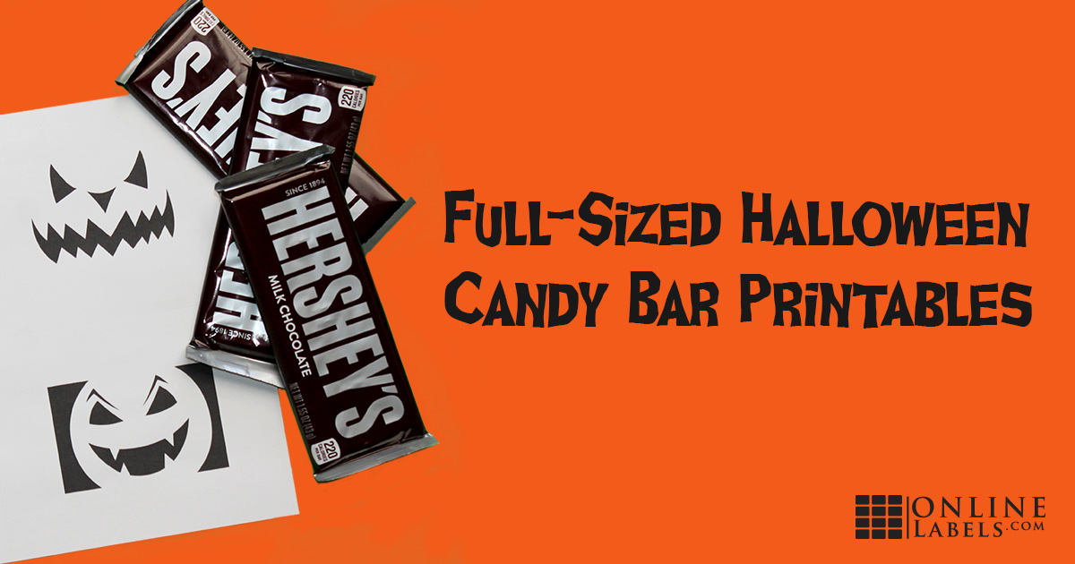 Halloween Candy Bar Printables