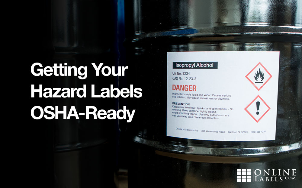 How to create OSHA/GHS labels for your workplace, warehouse, or office