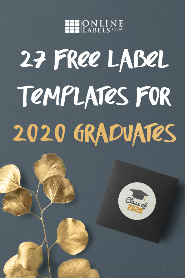 Label templates for graduation