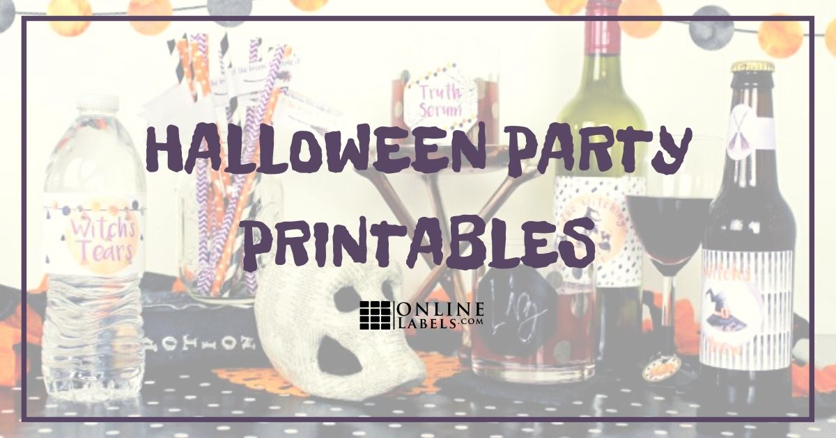 Creative Drink Labels For Adult Halloween Parties