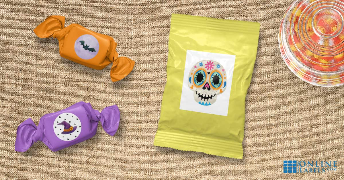 Celebrate All Hallow's Eve with these spooky and fun printable sticker templates