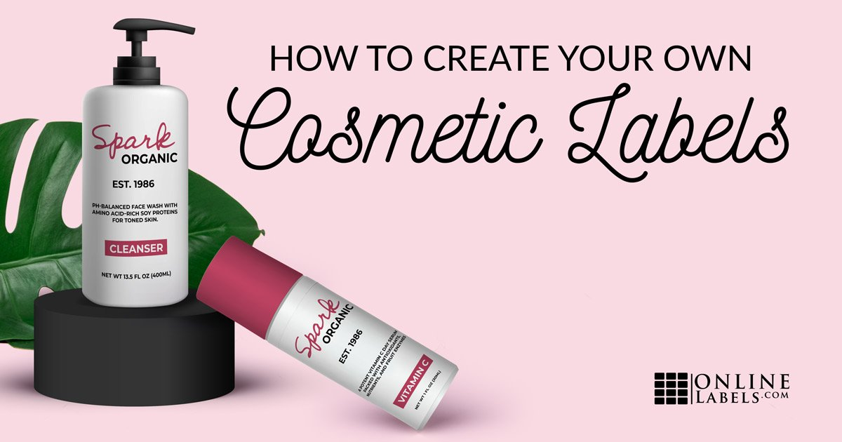 How To Create Your Own Cosmetic Product Labels