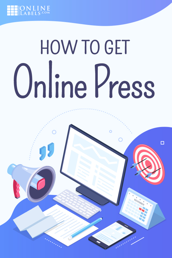 Getting your business published online graphic for Pinterest.