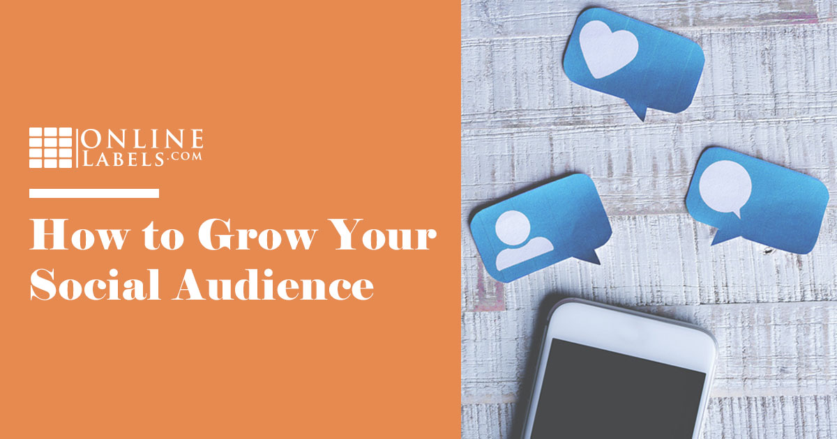 How to organically grow your social media following.