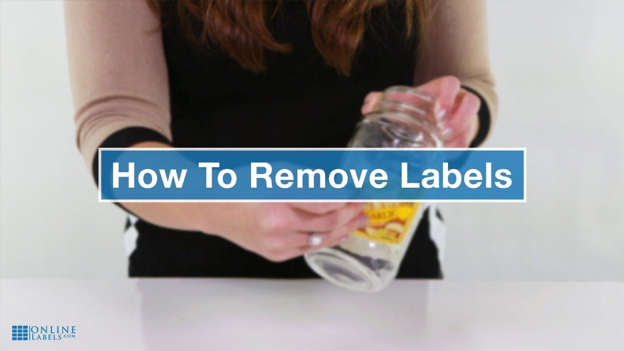 How To Remove Labels & Sticker Residue
